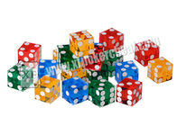 চীন Acrylic Customizable Sharp Magic Trick Dice Gambling Games Regular কারখানা