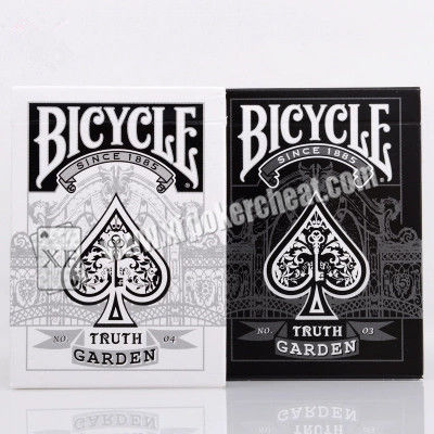Plastic Bicycle Truth Garden No.03 04 Marked Playing Cards For Gambling Magic Show